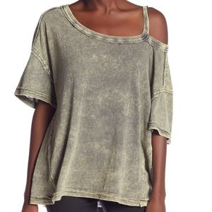 We The Free Free People Alex Cutout Tee Shirt